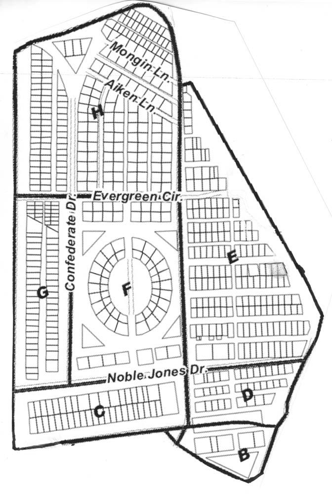 Bonaventure Cemetery Map Tours   Bonaventure Historical Society